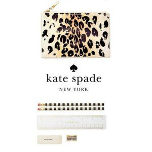 KATE SPADE New York 164752 LEOPARD Pencil Pouch